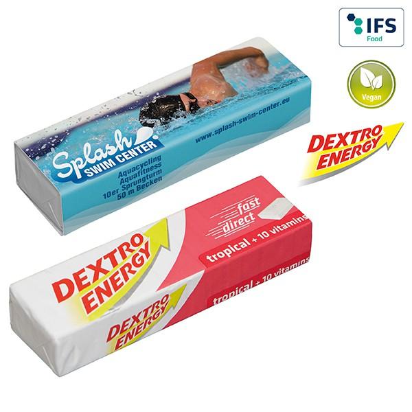 DEXTRO ENERGY Stange - Tropical + 10 Vitamine